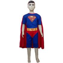 Fantasia Infantil Do Super Homem