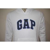 Moleton Feminino Gap Branco 100% Original