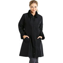 Casaco Blusa Modelo Sobretudo Feminino Preto Inverno Barato