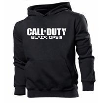 Blusa Moleton Call Of Duty Black Ops Iii .super Promoção !