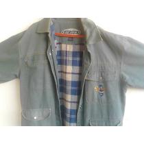 Jaqueta/casaco Ripcurl Original Em Brim Com Flanela Pouco Us