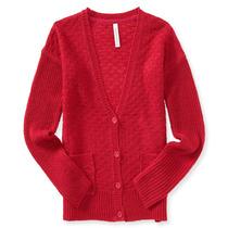 Aeropostale Namorado Texturizados Womens Cardigan Sweater