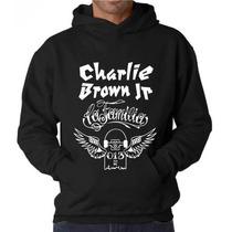 Blusa Charlie Brown Jr. Asa Moletom Canguru - Promoção !!!