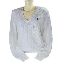 Suéter Feminino 100% Algodão -polo Ralph Lauren Original