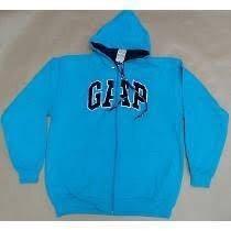 Promoção Blusa De Frio Gap - C/ziper Capuz Confira