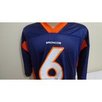 Camisa Futebol Americano Broncos Reebok Tam. Gg Pronta Entr