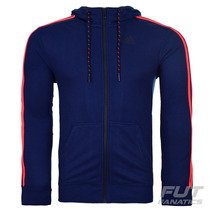 Jaqueta Adidas 3s Essentials Marinho - Futfanatics