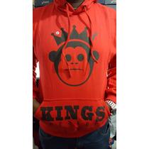 Blusa Frio Moleton Kings Macaco- Casaco C/ Capuz -promoção