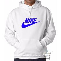 Blusa Moleton Nike - 100% Algodão Canguru - Frete Grátis