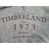 Blusão Casaco Moleton Apeluciado Com Estampa Timberland