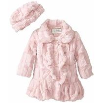 Casaco Infantil Inverno Luxuoso Princesa E.u.a