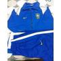 Jaqueta Blusa Calça Azul Seleçao Brasileira Futebol Novo