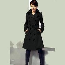 Trench Coat Importado G- Militar Sobretudo Elegante Em Lã