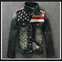 Jaqueta Jeans Americana Motocycle 2014** Lindíssima