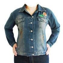 Jaqueta Jeans Plus Size (tamanhos Grandes)