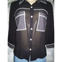Camisa Seda Feminina 40