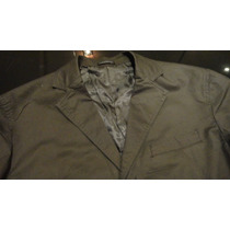 Blazer Armani Paleto Trench Coat Preto Tam. 52