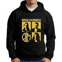 Moletom Engenheiros Do Hawaii Blusa Bolso Capuz Bandas Rock