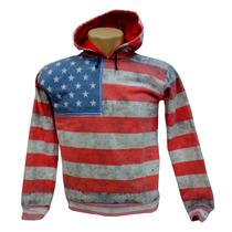Blusa De Moletom - Estados Unidos - Personalizado