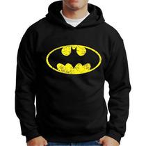Moletom Batman Moletons Super Herois Batman Canguru E Capuz