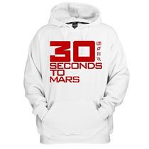 Blusa Moletom 30 Seconds To Mars Canguru Com Capuz
