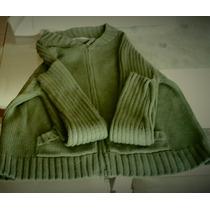 Casaco Sweter Zara Original Ziper Duplo Imp Canadá Novo