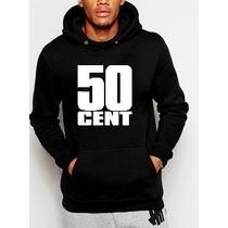 Blusa 50 Cent Moletom Canguru Com Capuz