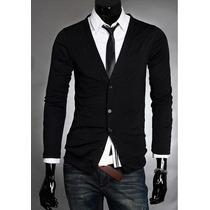 Cardigan Masculino Suéter Casaco Blusa Pronta Entrega