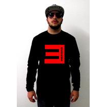 Blusa Eminem Gola Redonda - A Melhor Qualidade Do Mercado !
