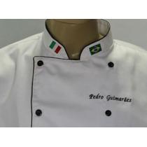 Dolma De Chef, Com Bordados Gastronomia, Cozinheiro
