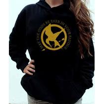 Blusa Moletom Jogos Vorazes The Hunger Games Canguru
