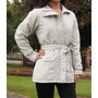 Casaco Com Cinto Plus Size - Tam 48 A 54 - Inverno