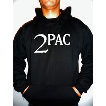 Moletom Tupac - 2pac - Rap - Hip Hop - Canguru