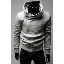 Blusa Casaco Moleton Slim Fit Pronta Entrega
