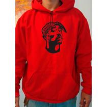 Moletom Tupac - 2pac -rosto Rap - Hip Hop - Canguru