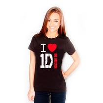 Camiseta I Love One Direction A Melhor Do Mercado!