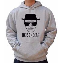 Blusa Heisenberg - Breaking Bad Moletom Canguru