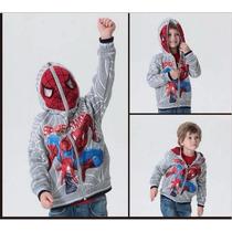 Moletom Infantil Flanelado Homem Aranha - Spader Man