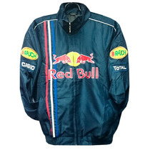 Jaqueta Red Bull Preta Rbr Racing