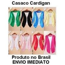 Pronta Entrega Cartigã Renda Cd Casaco Jaqueta Blazer Lindo