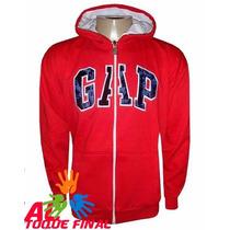 Blusa Moletom Gap Masculino Com Ziper