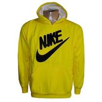 Blusa Nike De Moletom Casaco Jaqueta Amarelo