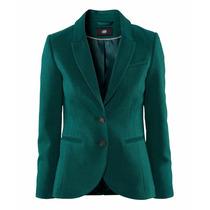Blazer Feminino Importado Verde Elegante - Frete Grátis