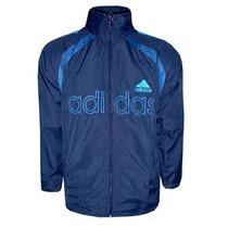 Agasalho Adidas Azul Marinho E Azul Bb Tactel Ad