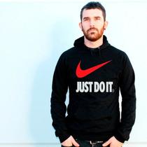 Blusa Nike Just Do It. Moletom Canguru - Promoção !!!