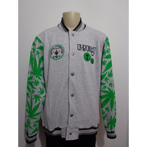 Jaqueta College Chronic 4:20 Maconha Cannabis Crazzy Store