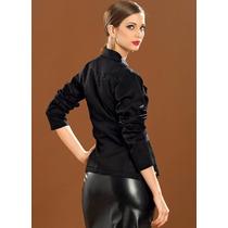Blazer Elegance Versatil Moderno Elastano Pronta Entrega