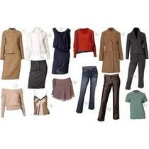 Vestidos Femininos E Roupas Variadas Lote Com 10 Peças!