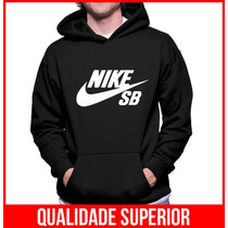 Moletom Nike Sb Skateboard Masculino/feminino Blusa Canguru