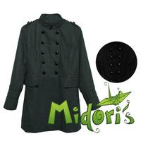 Trench Coat*casaco*sobretudo De Lã Batida - Pronta Entrega